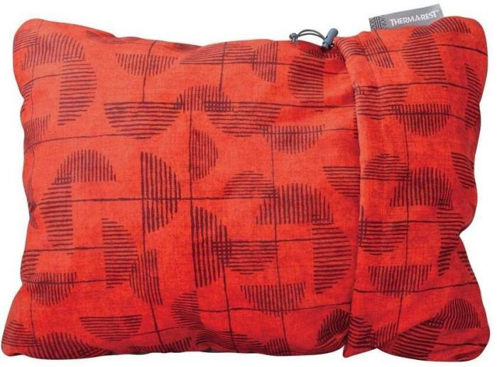 Подушка Therm-A-Rest 2020 Compressible Pillow M Red Print (Б/Р), 2020