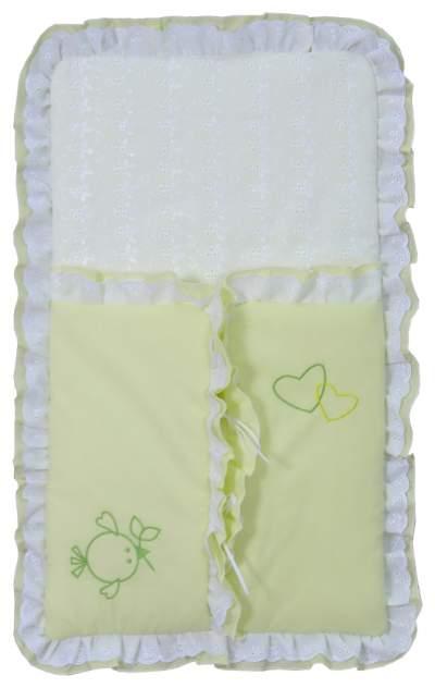 Конверт для новорожденных Fairy Тополь Жирафик зеленый