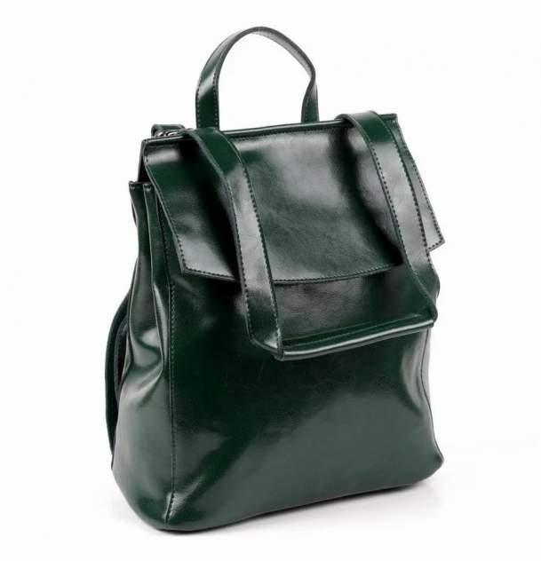 Сумка-рюкзак женская Fuzi house 1001 зеленая