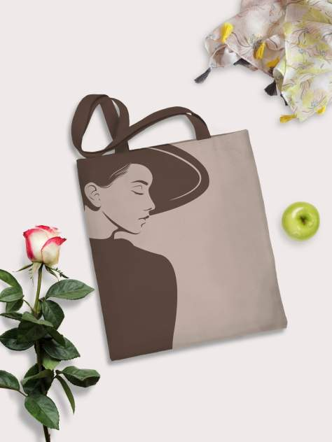 Пляжная сумка женская sfer.tex 1745239 бежевая