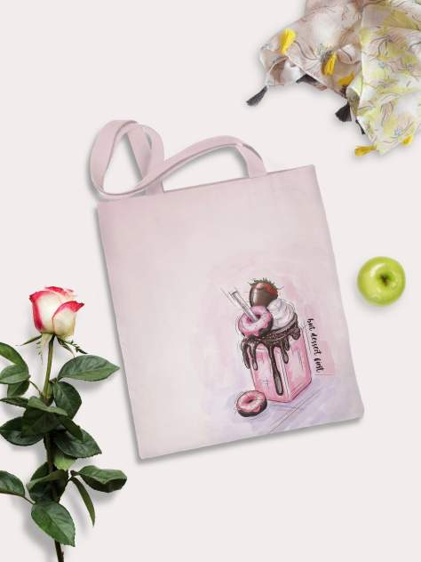 Пляжная сумка женская sfer.tex 1745235 розовая