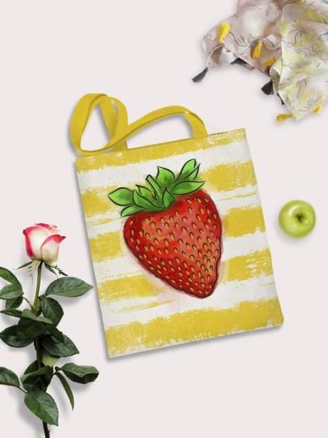 Пляжная сумка женская sfer.tex 1745233 желтая
