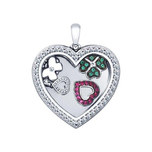 Подвеска SOKOLOV из серебра «Сердце» 94031947