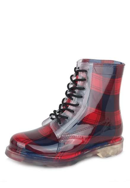 Женские резиновые резиновые ботинки T.Taccardi 113564, красный