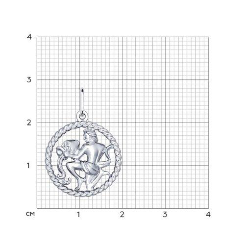 Подвеска «Знак зодиака Водолей» SOKOLOV 94031863