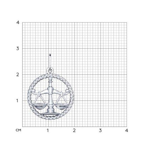 Подвеска «Знак зодиака Весы» SOKOLOV 94031859