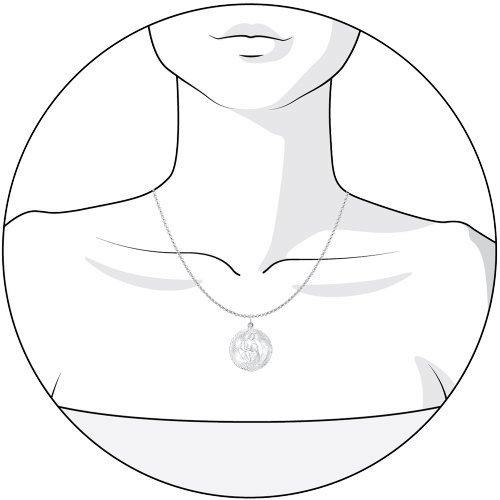 Подвеска «Знак зодиака Водолей» SOKOLOV 94030880