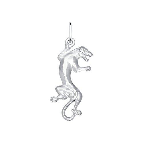 Серебряная подвеска «Пантера» SOKOLOV 94030029
