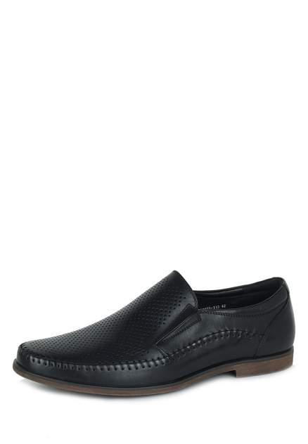 Туфли мужские Pierre Cardin 110563, черный