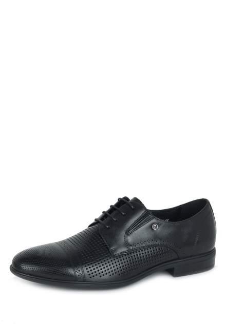 Туфли мужские Pierre Cardin 110562, черный