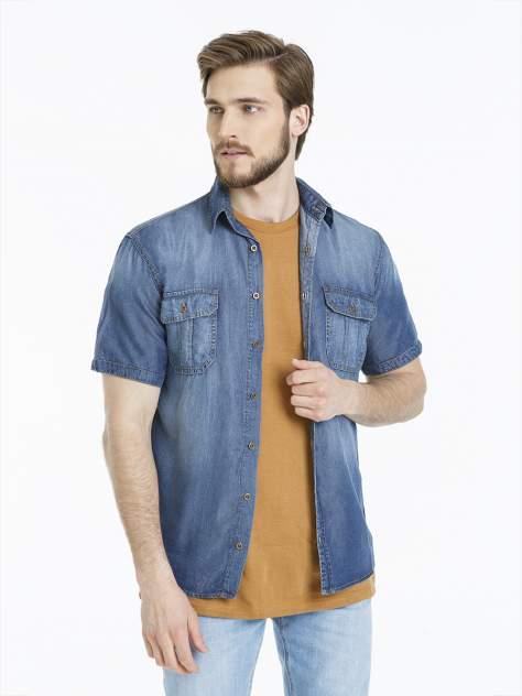 Рубашка мужская Velocity M06V023-2 синяя M
