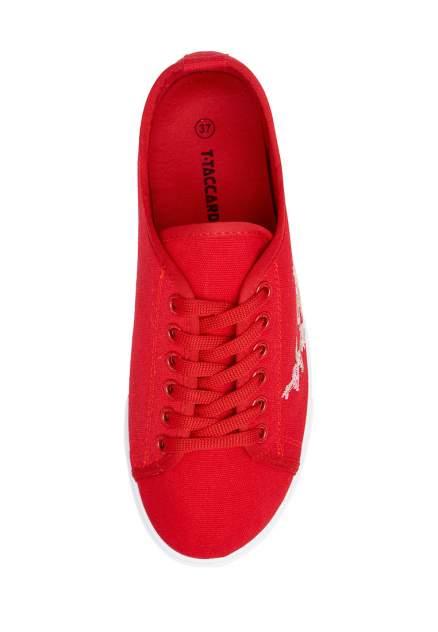Кеды женские T.Taccardi B-322045 красные 40 RU