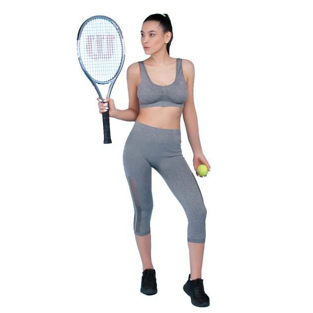 Женские спортивные леггинсы Atlanterra AT-LEG7-04, серый
