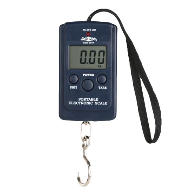 Безмен электронный Mikado 40 кг Black