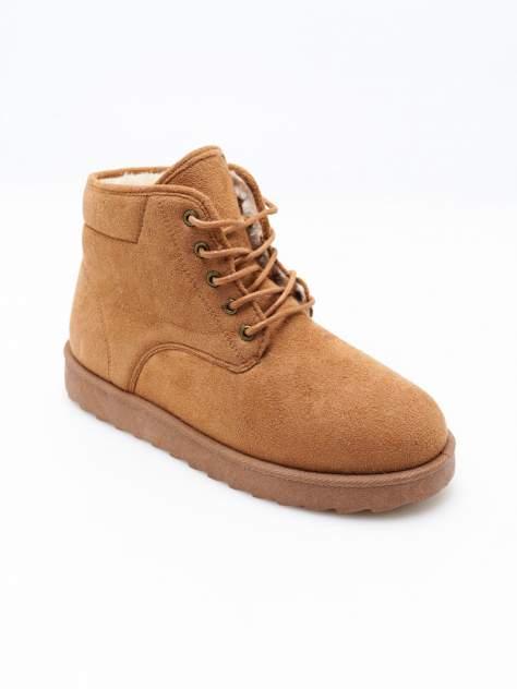Ботинки женские ТВОЕ A6976 коричневые 39