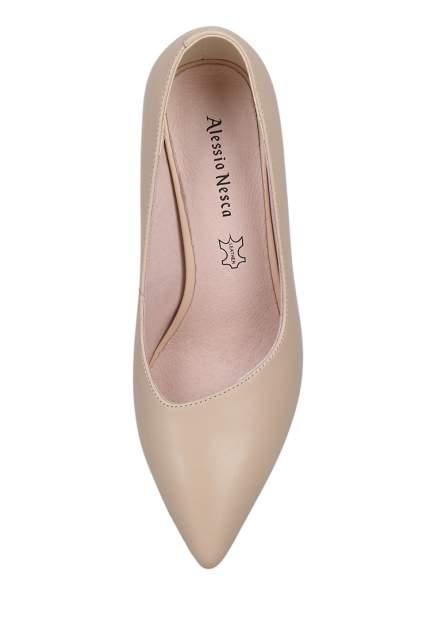 Туфли женские Alessio Nesca 00808200 бежевые 41 RU