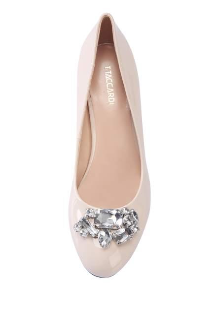 Туфли женские T.Taccardi 008066R0 бежевые 38 RU