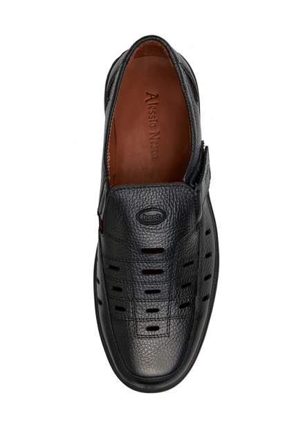 Туфли мужские Alessio Nesca 1-151-100-1 черные 43 RU