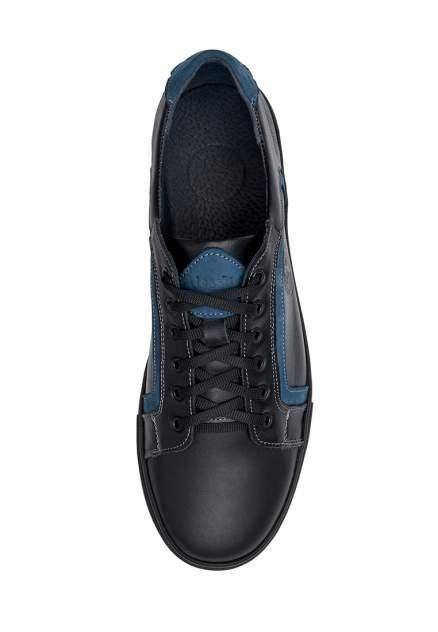 Кеды мужские Alessio Nesca 90 черные/синие 41 RU