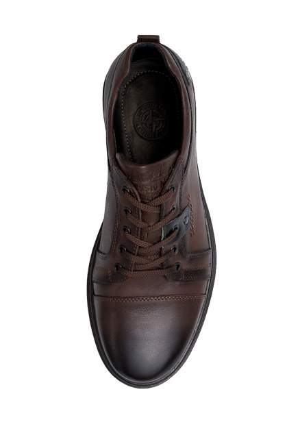 Полуботинки мужские Alessio Nesca 111155 коричневые 40 RU