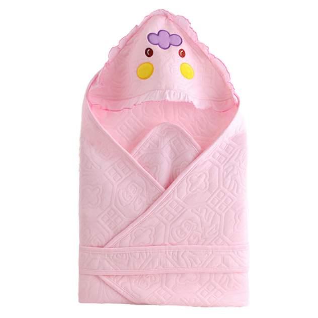 Одеяло-конверт Baby Fox летнее, цвет розовый, 80х80 см