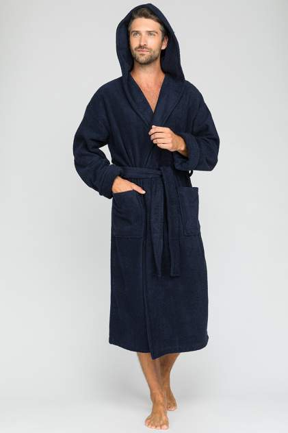 Домашний халат мужской Sport&Style_Man EvaTeks синий S