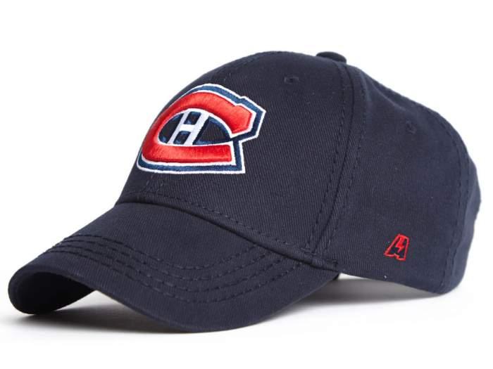 Бейсболка Atributika&Club NHL Montreal Canadiens 29093 синяя