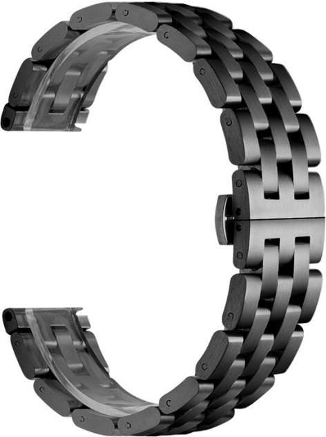 Ремешок для часов GSMIN Cuff 22 для GearS3/GalaxyWatch(46mm) Черный