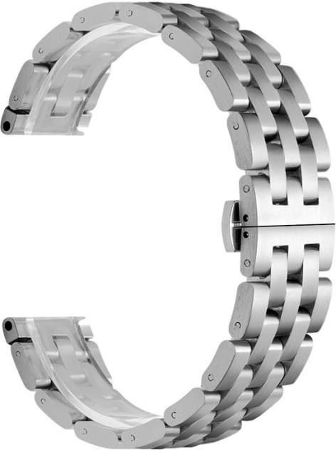 Ремешок для часов GSMIN Cuff 22 для GearS3/GalaxyWatch(46mm) Серебристый