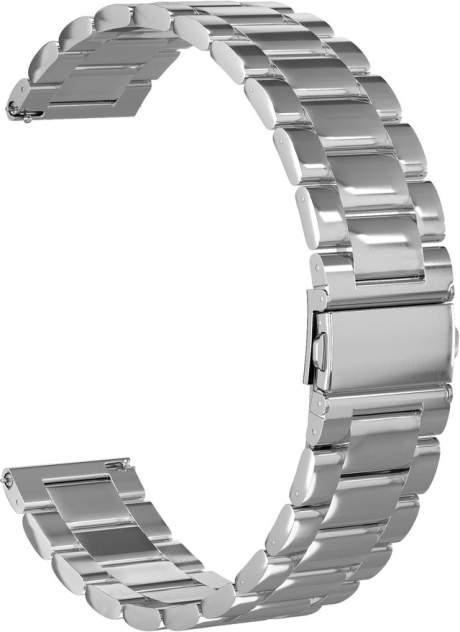 Ремешок для часов GSMIN Classic Collection 22 для GearS3/GalaxyWatch(46mm) Металлик