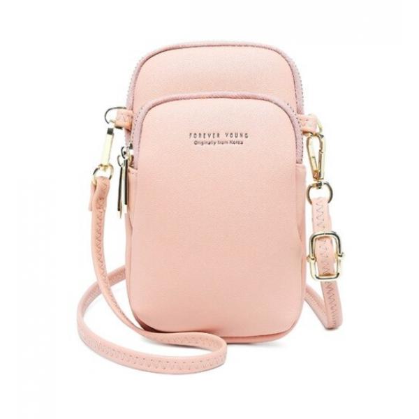 Сумка-портмоне женское Baellerry Forever Young розовая