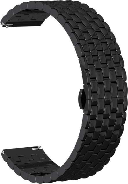 Ремешок для часов GSMIN Snake Pro 22 для GearS3/GalaxyWatch(46mm) Черный