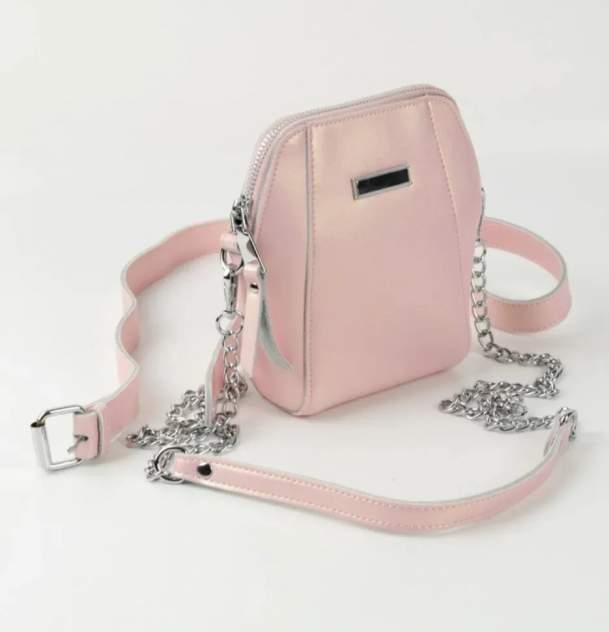Поясная сумка женская Fuzi house 1824 розовая