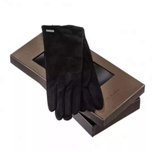 Перчатки женские Dr.Koffer H620108-120-04 черные 8