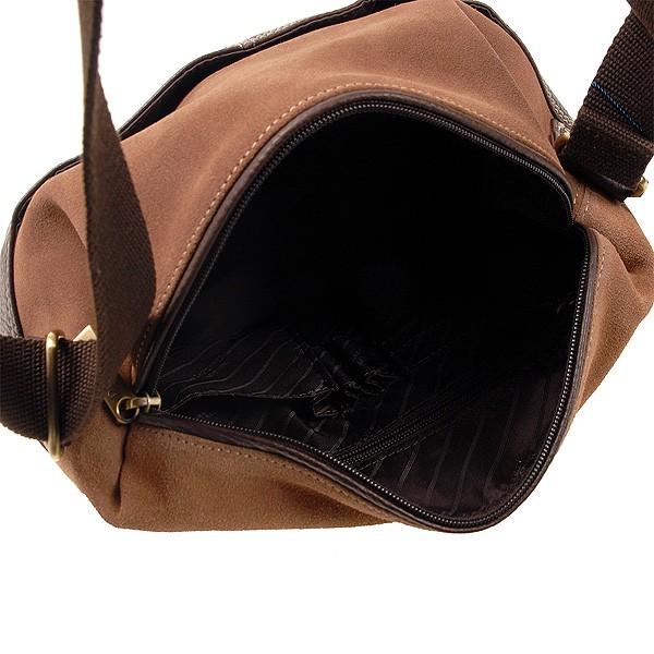 Сумка через плечо мужская Dr.Koffer B457200-02-09 коричневая