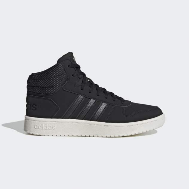 Кроссовки женские Adidas HOOPS 2.0 MID, черный