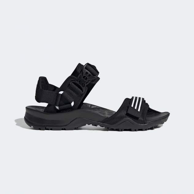 Сандалии мужские Adidas Cyprex Ultra Sandal Dlx черные 11 UK