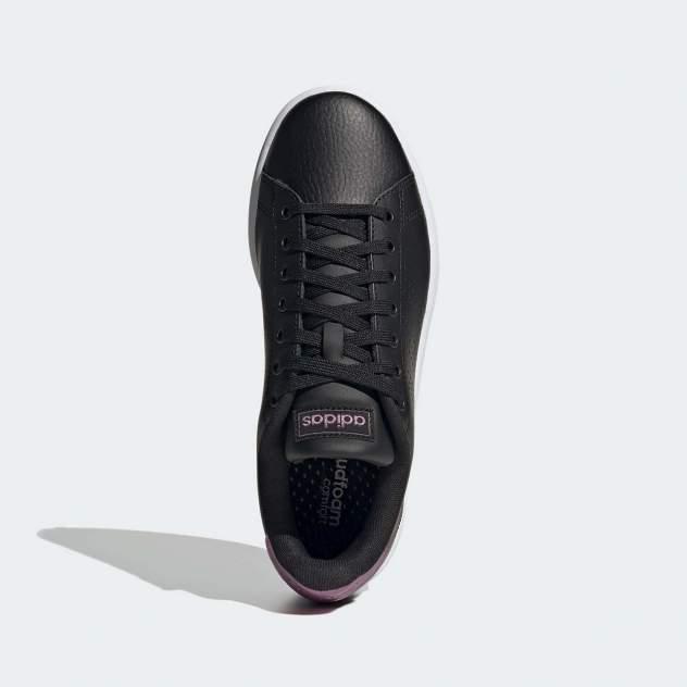 Кеды женские, Adidas ADVANTAGE CCCHEMET, черный