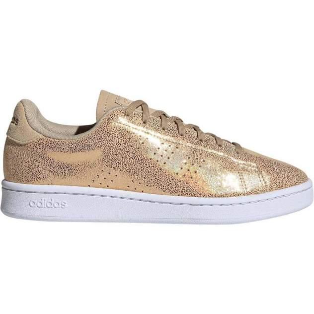 Кеды женские, Adidas ADVANTAGE, золотистый
