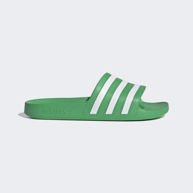 Шлепанцы мужские Adidas Adilette Aqua, зеленый