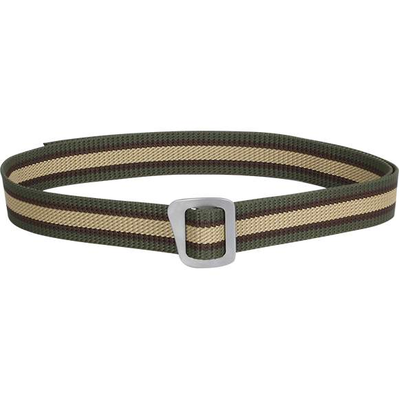 Ремень мужской Сплав Simple 30 мм трехцветный с серой пряжкой 119 см
