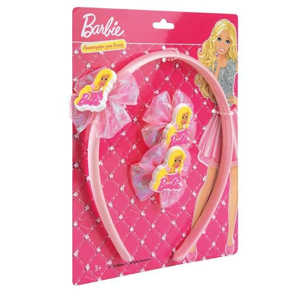 Аксессуары для волос Играем вместе Барби, ободок и резинки