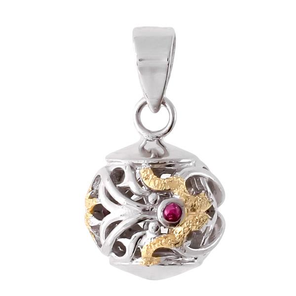 Подвеска женская Balex Jewellery 3448930021 из серебра, фианит