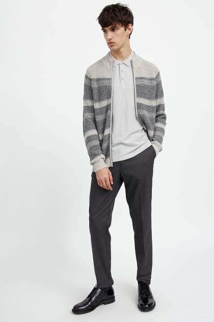 Кардиган мужской Finn Flare A20-42102 серый M