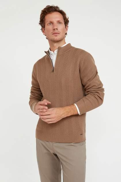 Джемпер мужской  Finn Flare A20-22102, коричневый