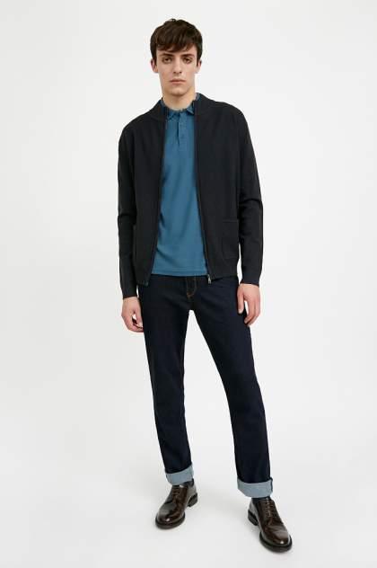 Кардиган мужской Finn Flare A20-21122 синий 2XL