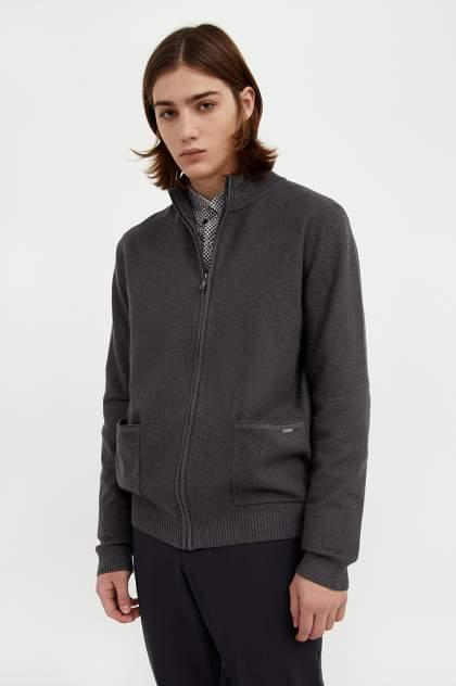 Кардиган мужской Finn Flare A20-21122 серый 2XL