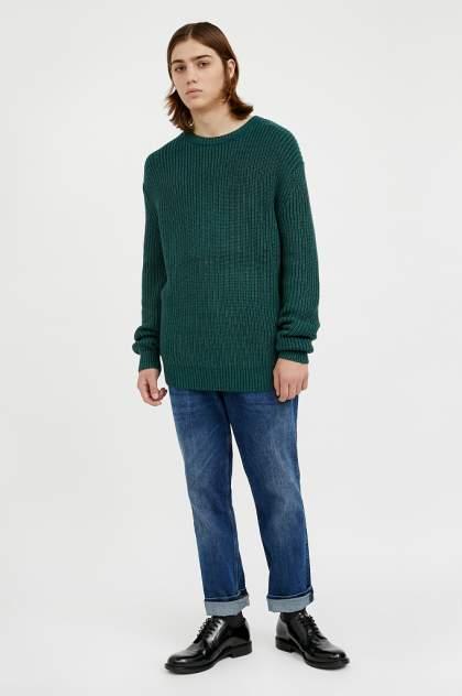 Джемпер мужской Finn Flare A20-21106 зеленый 3XL