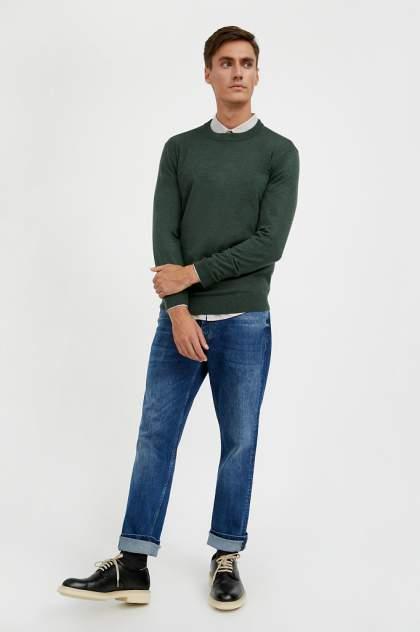 Джемпер мужской Finn Flare A20-21100 зеленый 2XL