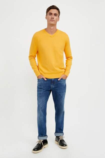Джемпер мужской Finn Flare A20-21103 желтый 3XL